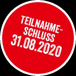 Teilnahmeschluß: 31.08.2020